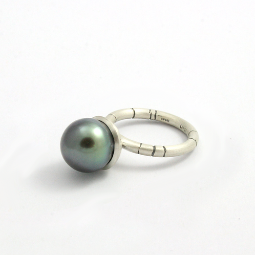 Tahitian Pearl Mermaid Bauble Ring