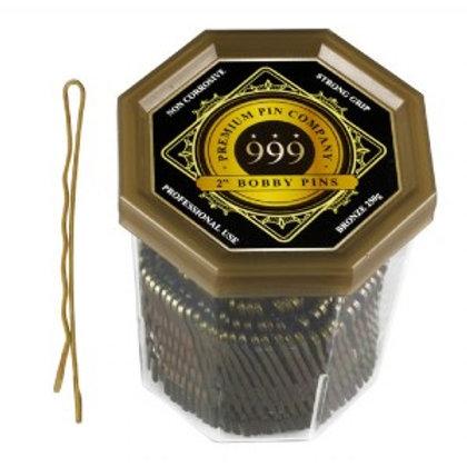 "Dateline - 999 Premium Bobby Pins 2""  pkt 20"