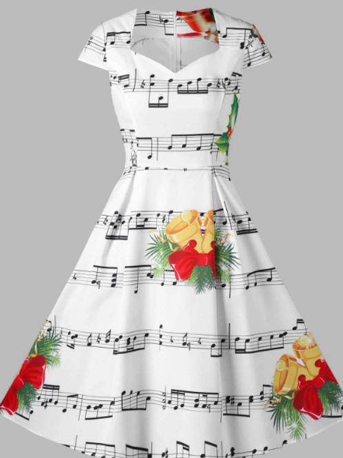Christmas Bells with Music Score
