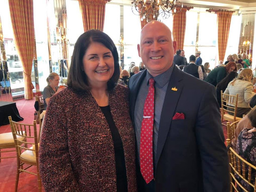 Candidate Susan Wright for Congress and Judge Christopher Gregory, Tarrant County
