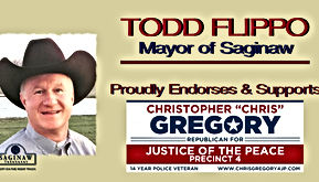 Chris Gregory Endorsement by Saginaw Mayor Todd Flippo