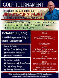 Gregory Campaign Golf Tournament