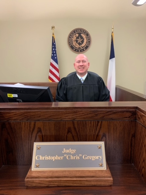 Christopher Gregory, Justice of hte Peace, Precinct 4 of Tarrant County