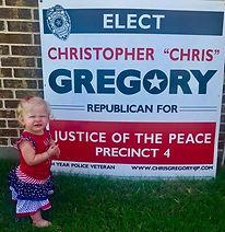 Elect Christ Gregory for JP4