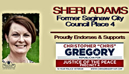 Chris Gregory Endorsement by Former Saginaw City Council woman, Sheri Adams