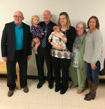 Judge Gregory with family