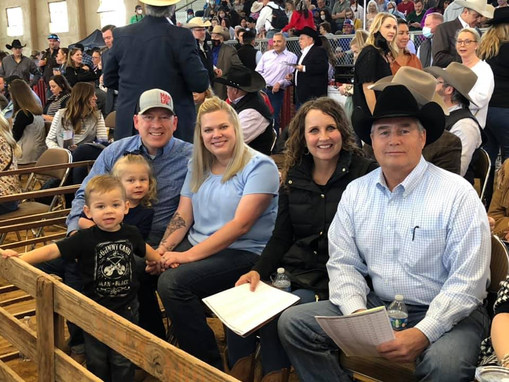 Judge Christopher Gregory and Constable Jody Johnson and their families.