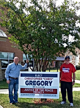 Chris Gregory for Justce of the Peace, Precinct 4, Tarrant County