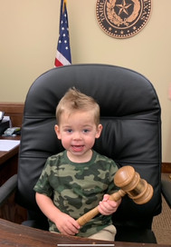 Future judge in the making