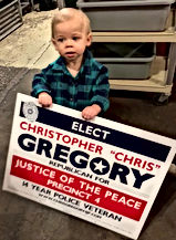 Elect Christ Gregory for JP4