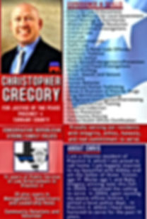 Christopher Gregory for Justice of the Peace, Precinct 4