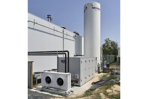 Unité frigorifique au CO2 d'ECR-Belgium et SCM Frigo