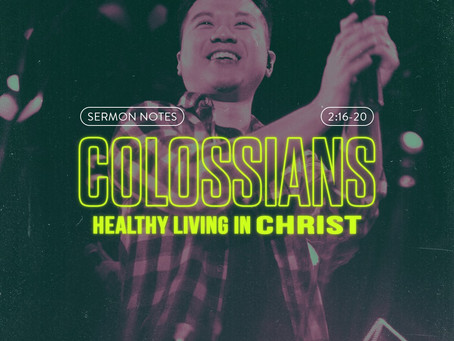 HEALTHY LIVING IN CHRIST