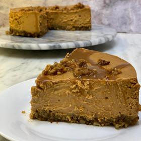 Cheesecake de dulce de leche light - Sin gluten