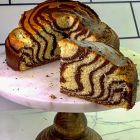Torta cebra, increíble!