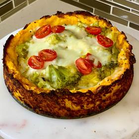Tarta de calabaza y brócoli - Sin gluten