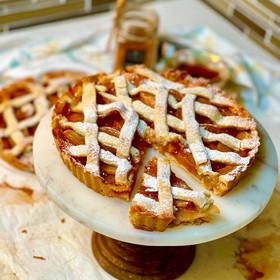 Tarta de Manzana Americana (Thanksgiving's day apple pie)