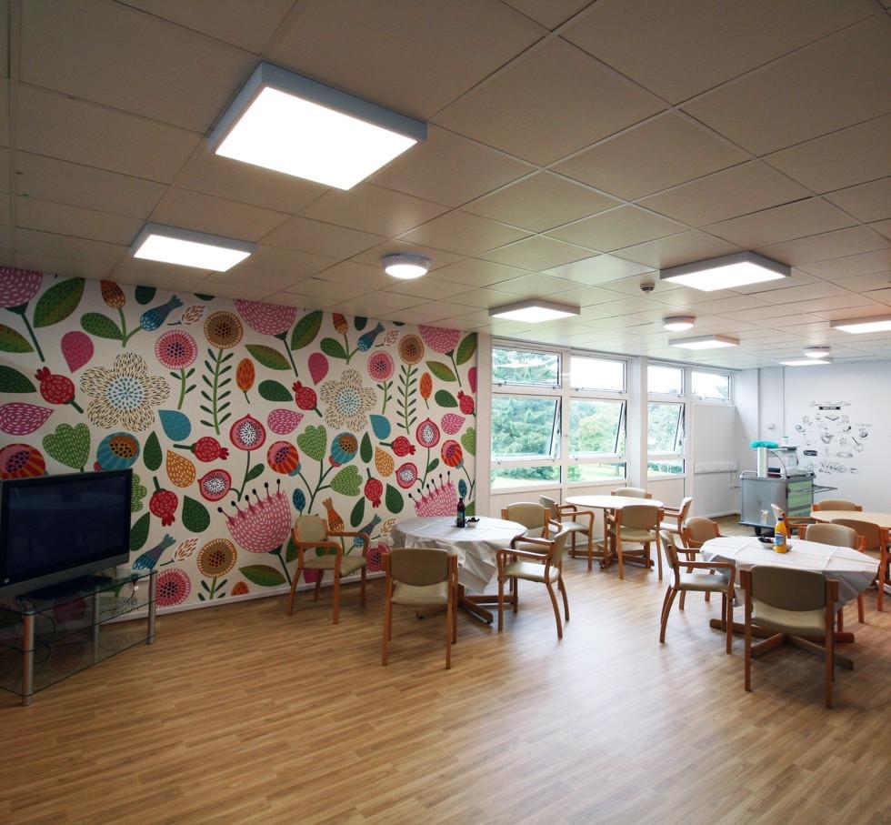 Moseley Hall, Ward 5 Dementia Design