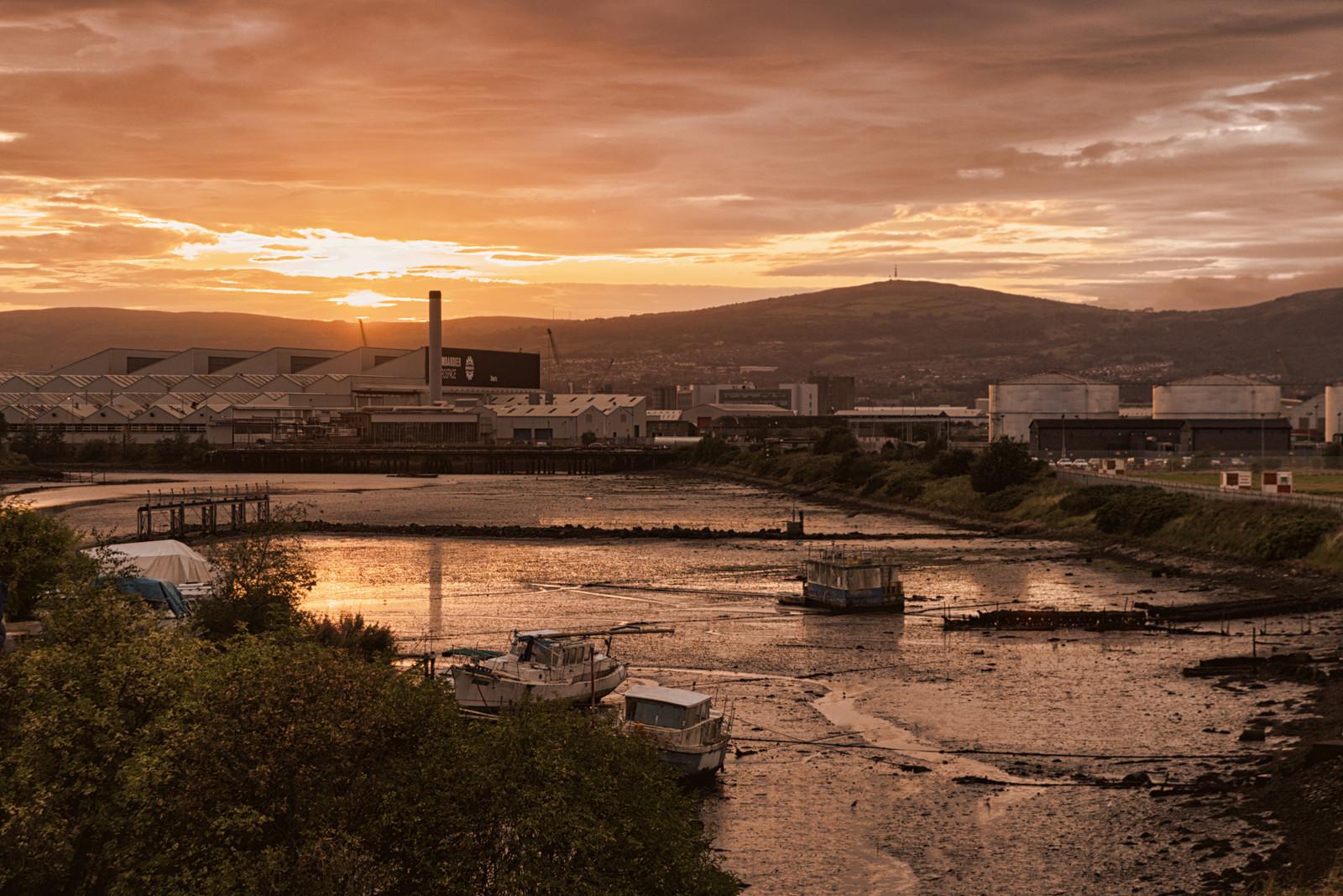 PDI - Connswater Sunset by Jonny Clark (8 marks)