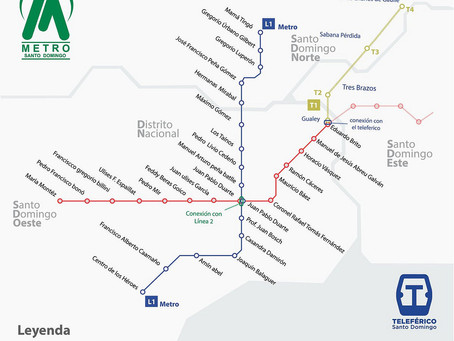 Did you Know Santo Domingo has a Great Subway System?