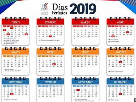 2019 Dominican Holidays