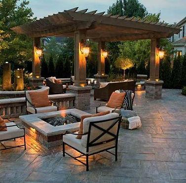 backyard-ideas-stamped-concrete-patio-wi