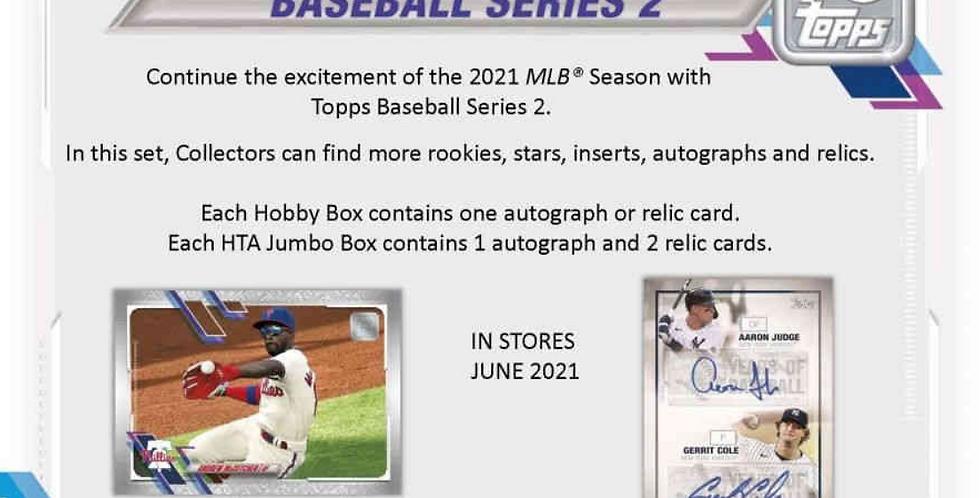 2021 Topps Series 2  Baseball Break  #1042