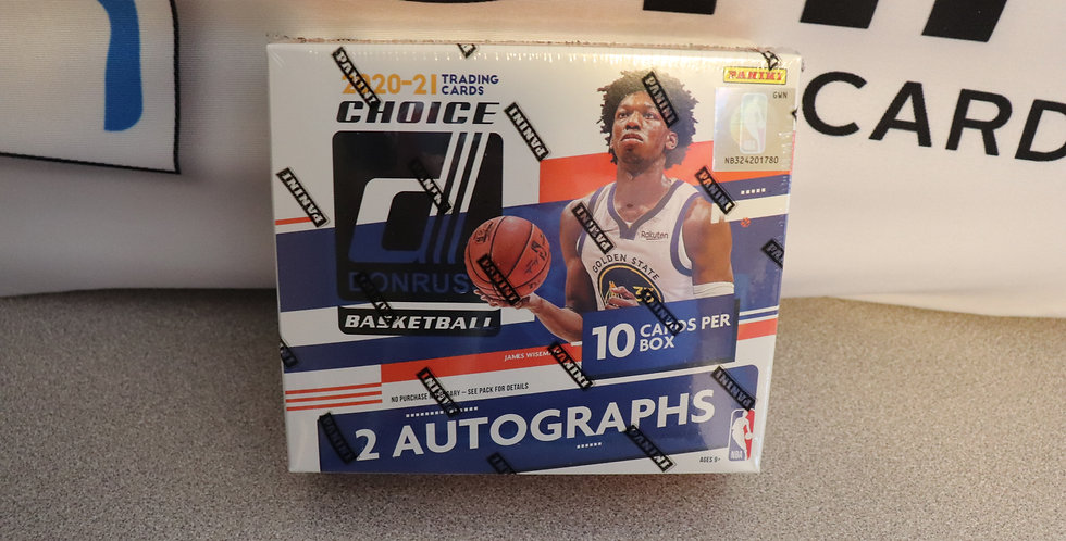 2020-21 Donruss Choice Basketball Break