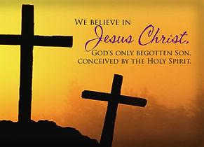 Camp Hill Presbyterian Church Christian Education - We Believe in Jesus Christ