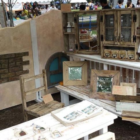 オリジナルアンティーク仕上げ家具