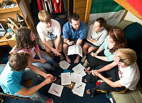 Christian education youth group