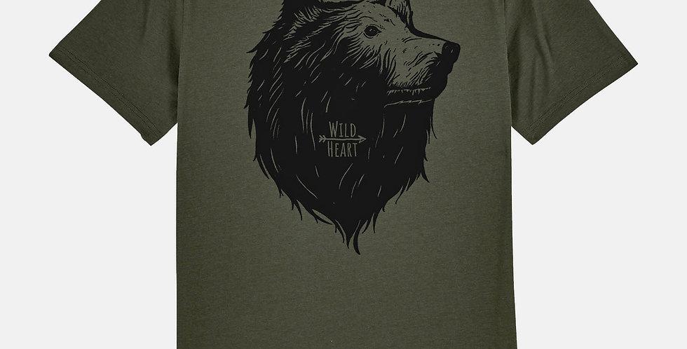 """Fairtrade Shirt """"Wild Heart"""""""
