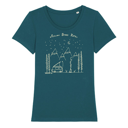 "Fairtrade Shirt ""Million Stars Hotel"""