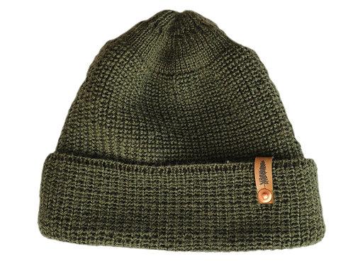 Wollmütze Tjikko - Waldgrün -