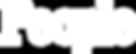 People Magazine White Logo