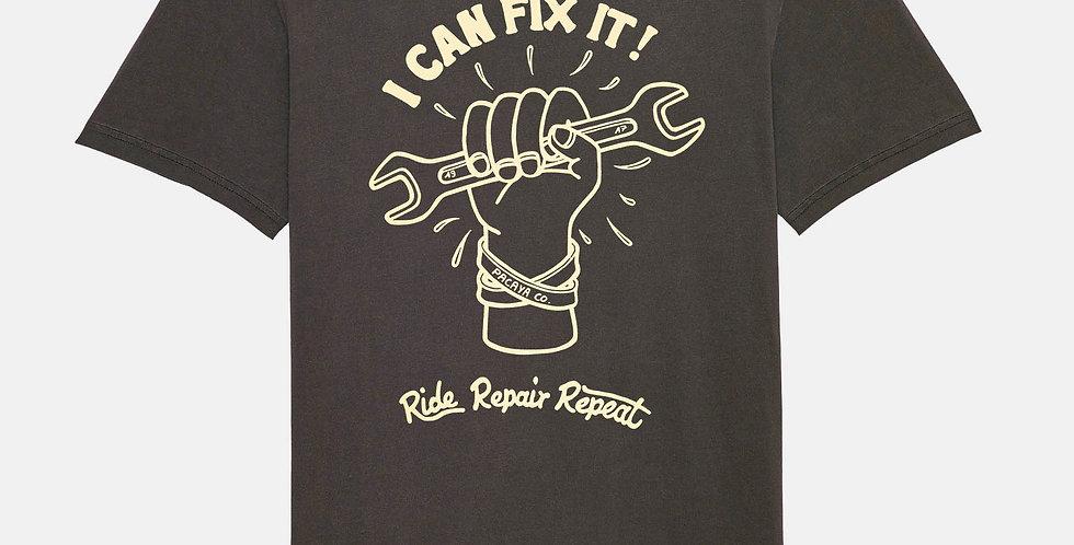 """Fairtrade Shirt """"Ride Repair Repeat"""""""