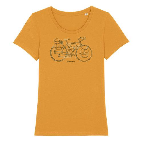 "Fairtrade Shirt ""Pedal the world"""