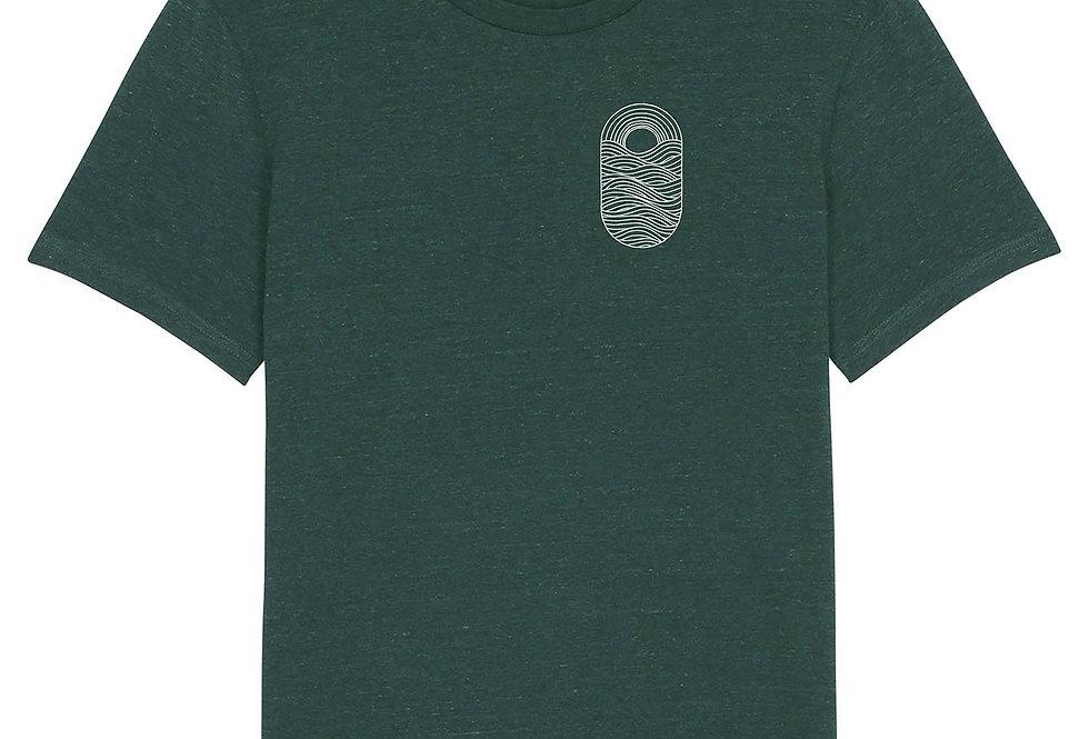 """Fairtrade Shirt """"Sunset Wave"""""""