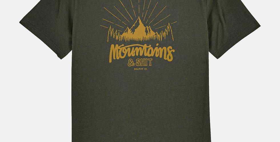 """Fairtrade Shirt """"Mountain Call"""""""