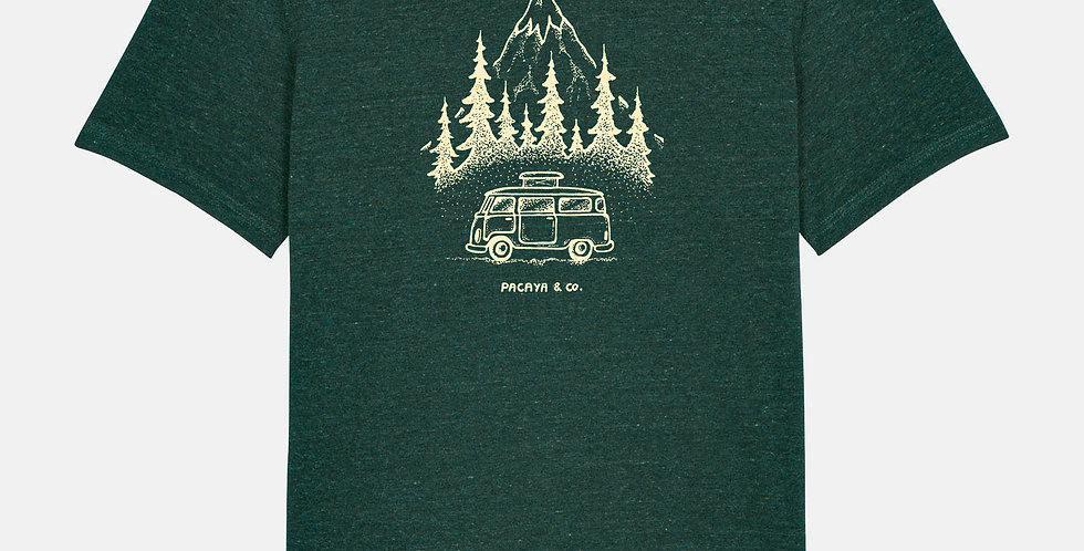 "Fairtrade Shirt ""Van in the wild"""