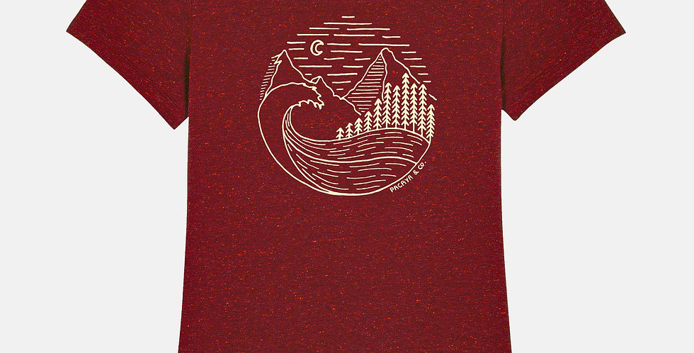 Shirt WAVES WOODS & MNTNS