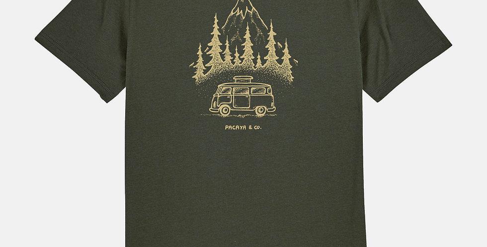"""Fairtrade Shirt """"Van in the wild"""""""