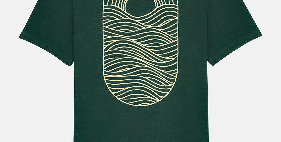 "Fairtrade Shirt ""Sunset Wave"""