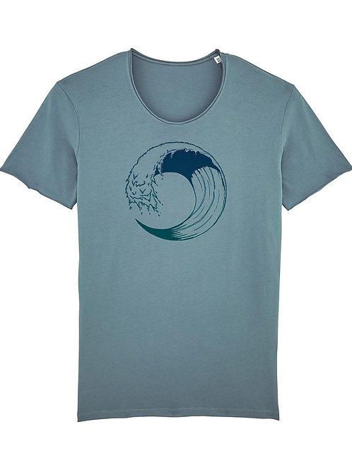 """Fairtrade Shirt """"High Tide"""""""
