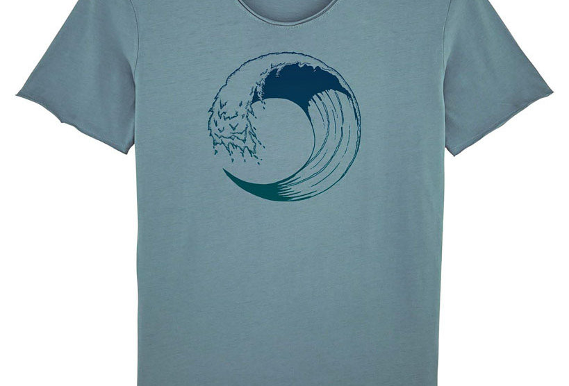 "Fairtrade Shirt ""High Tide"""