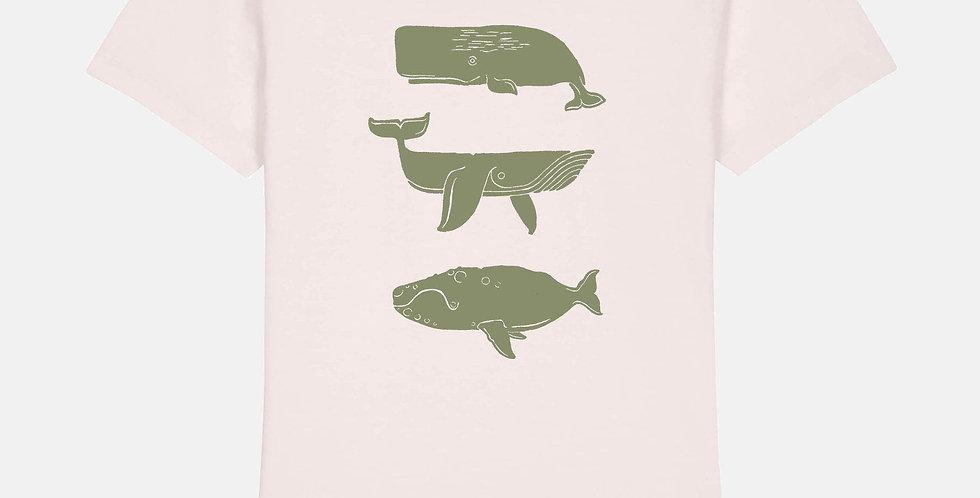 "FRAM Shirt ""Whales"""