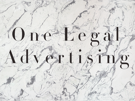 The First Advertising Agency for Attorneys