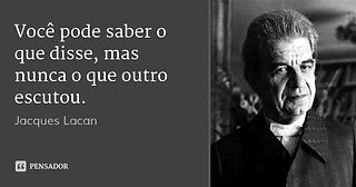 Curso de psicanalise lacaniana em Sao Paulo - Jacques Lacan