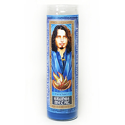 Pop Saints Chris Cornell Candle
