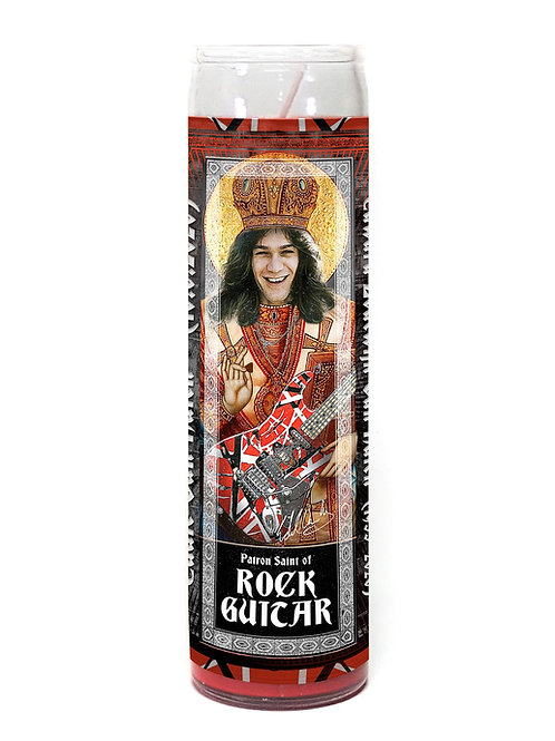 Pop Saints Van Halen Candle